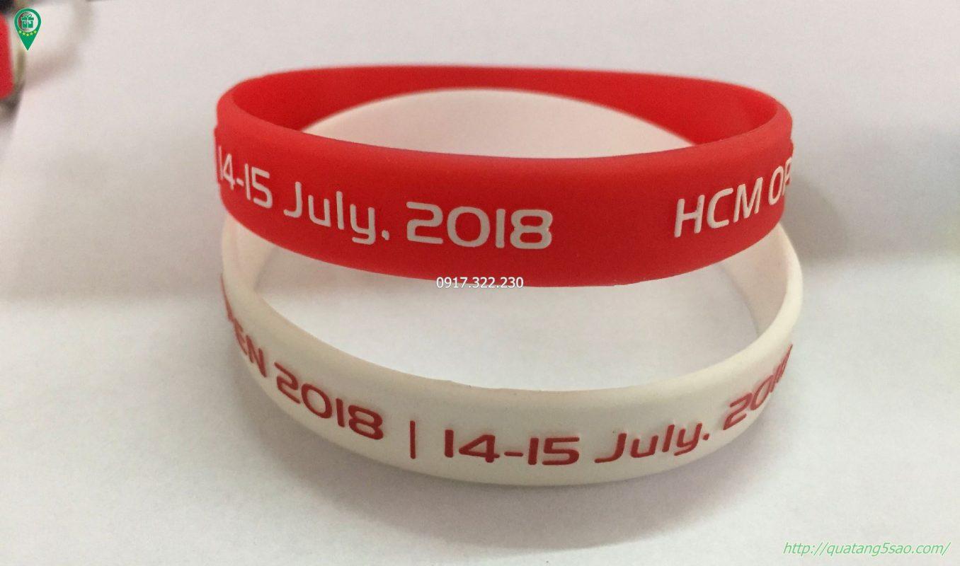Vòng tay cao su giá rẻ - HCM Open day`
