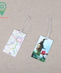 Thẻ hành lý bằng giấy