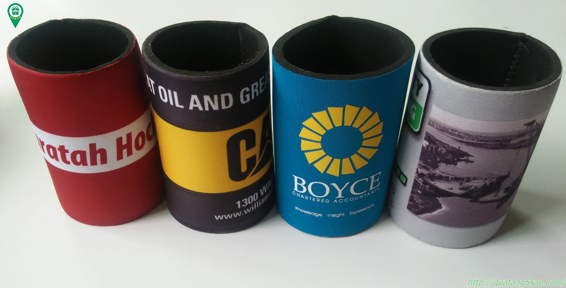 Túi giữ nhiệt lon bia làm từ mút xốp cách nhiệt