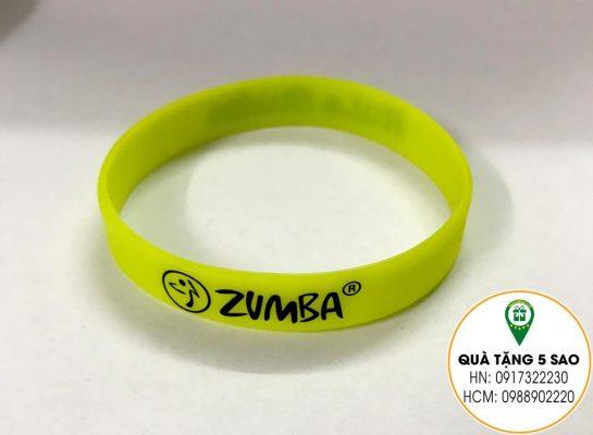 Vòng tay cao su Zumba