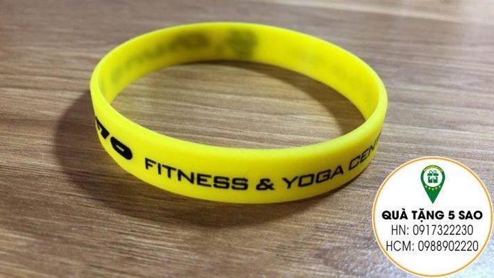 Vòng tay cao su fitness & yoga