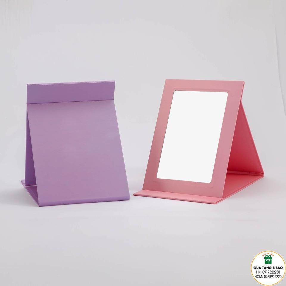 Gương gập xếp để bàn tiện dụng