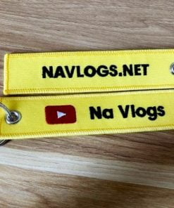Móc khoá vải thêu của kênh Youtube Na Vlogs
